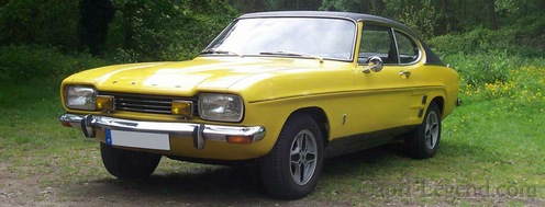 Ford Capri facelift